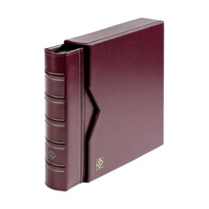 Numis Classic leather Album - Burgundy