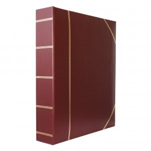 Corinthian Burgundy Binder Album