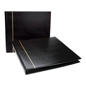 Large Black Postcard Album