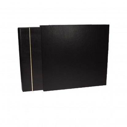 Large Format Black Postcard Slipcase