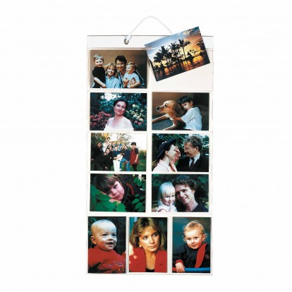 "Hanging Gallery Picture Pockets Small  size for  22 6x4"" prints"