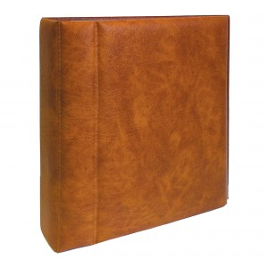 FDC & Postcard Large Album - Tan