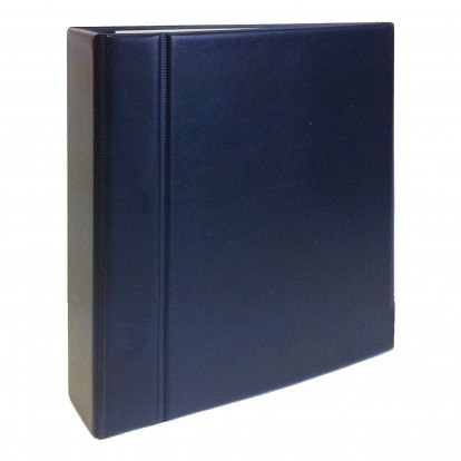 First Day Cover and Postcard Large Capacity Album Blue
