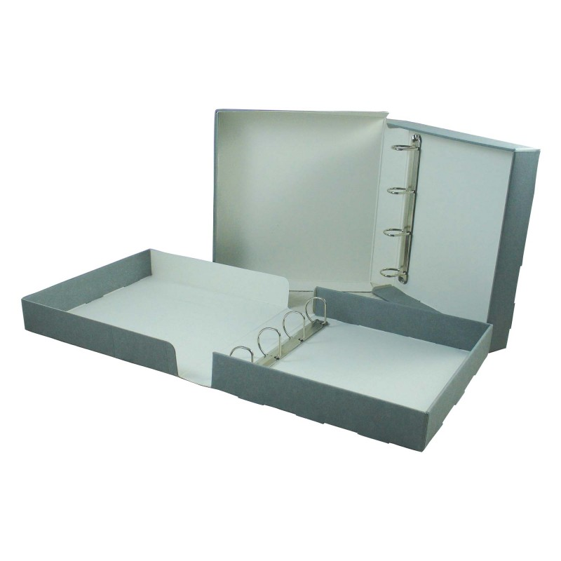 A3 library binder box ideal for long term document storage for Long term document storage