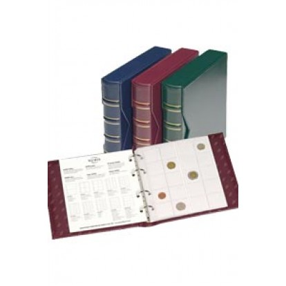 Numis Classic Coin Album and Slipcase with 5 refills