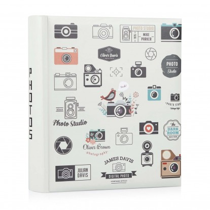 Snap Happy 6x4.5 Digital Photo Slip-in Album