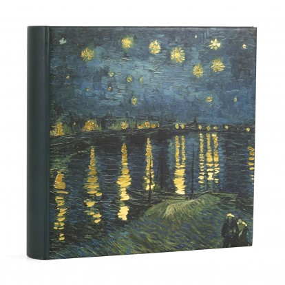 Vincent Starry Night over the Rhone 6x4.5 Digital Photo Slip-in Album holds 200
