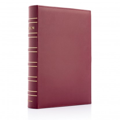 Library Slip-in 6x4 Landscape Photo Album - choice of 4 colours