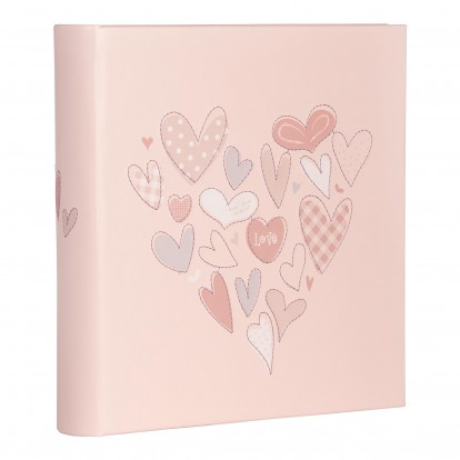 Pink Corazon 6x4.5 Slip-in Album