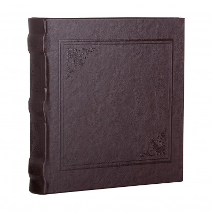 Cuero Brown 6x4.5 Slip-in Album -Dark Brown