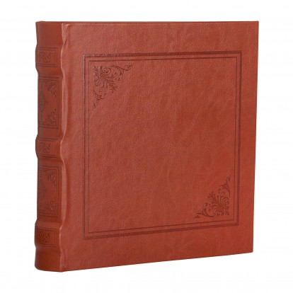 Cuero Tan 6x4.5 Slip-in Album - Tan Brown
