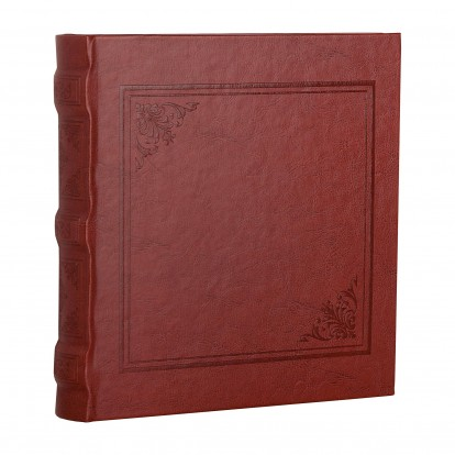 Cuero Burgundy 6x4.5 Slip-in Album