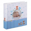 Blue Baby Boy 6x4 Slip-in Album