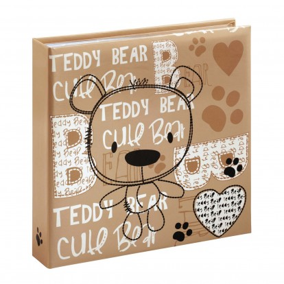 Bernd Baby Bear 6x4 Slip-in Memo Photo Album for 200 prints