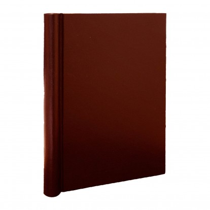 A4 Brampton Leather look Springback Folder - Red