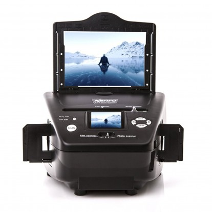 4-in-1 Photo & Film Scanner -New improved 8MP resolution
