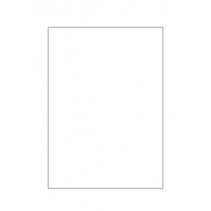 A5 White Lignum-Free Insert Card (pack of 10)