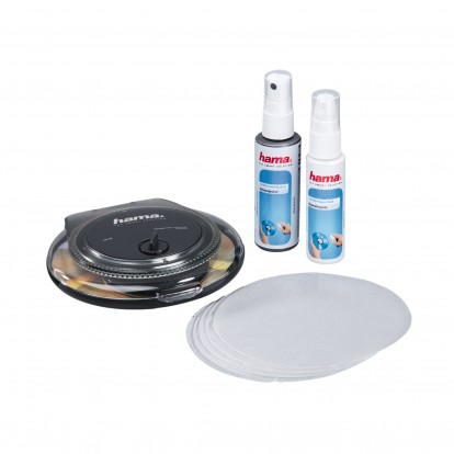 CD / DVD Cleaning Kit including cleaning shell, repair paste, polishing pads and fluid