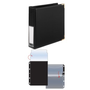 DVD A5 Album Organiser with Refill Sleeves
