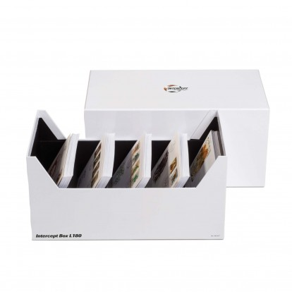 Intercept Protective Archive Collectors Box for Documents, Postcards, Letters, Coins and Medallions etc