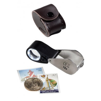Precision Magnifier With LED & UV Lamp