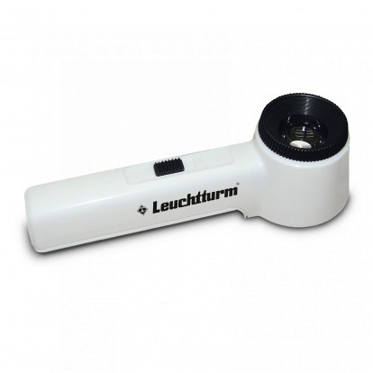 Overlay LED Illuminated Magnifier x10 lens magnification