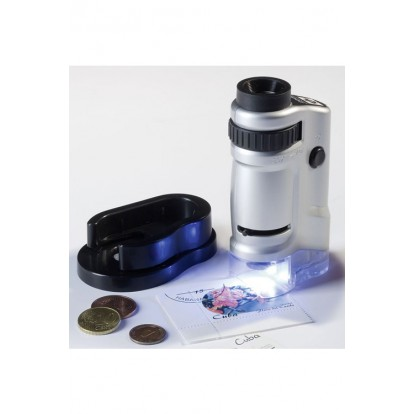 Zoom Microscope with LED 20-40 X