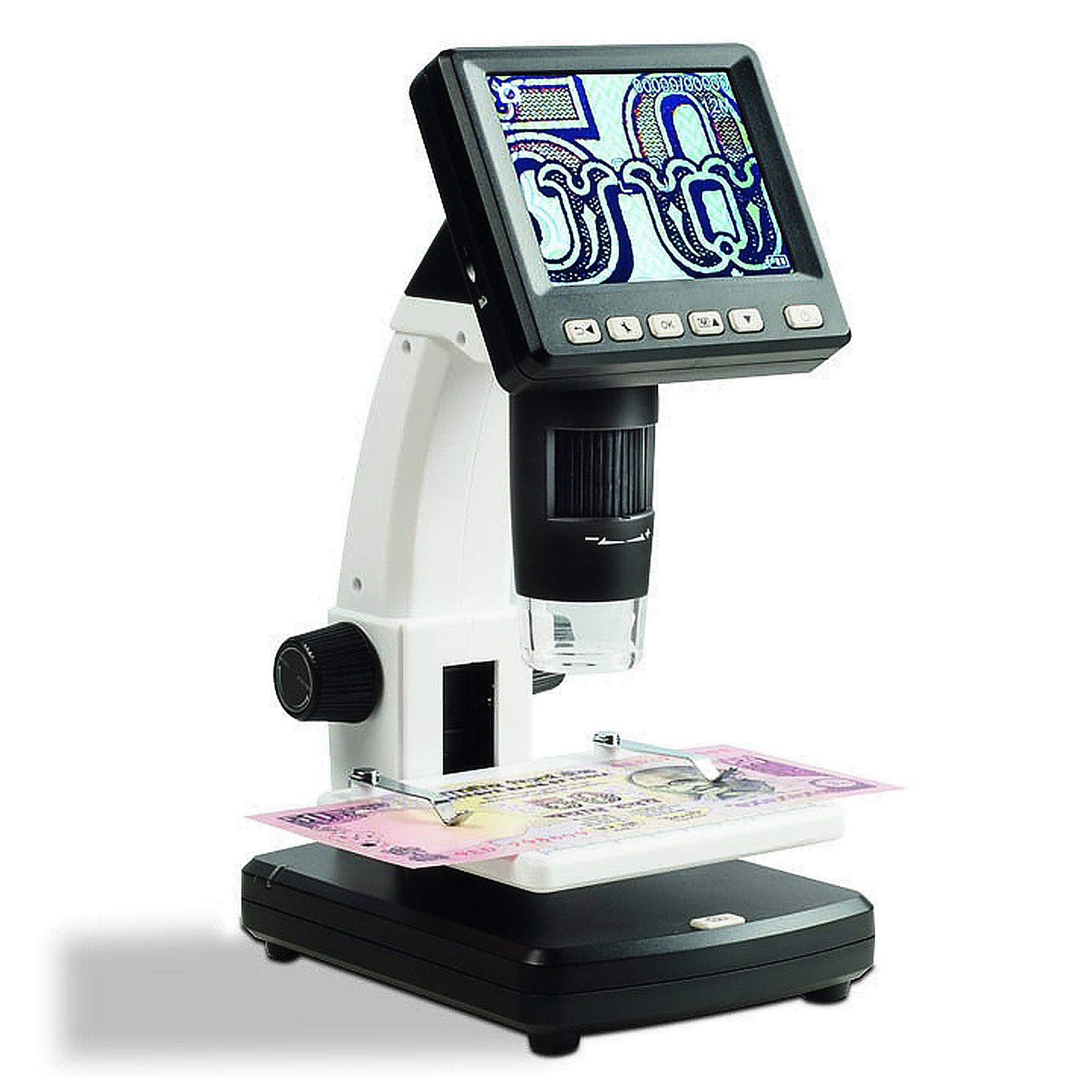 lcd digital microscope with 10