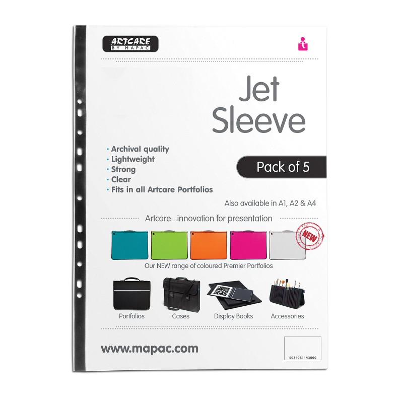 Jet Sleeves A1 Pack of 5