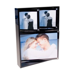 Rotating Triple Photo Frame