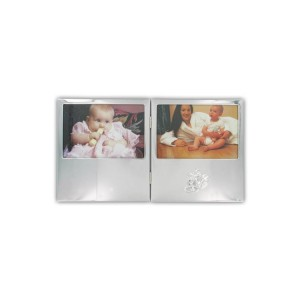 Silver hinged 5.5x3.5 Photo Frame