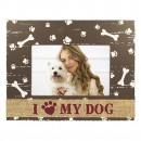 6x4 Photo Frame -Dog