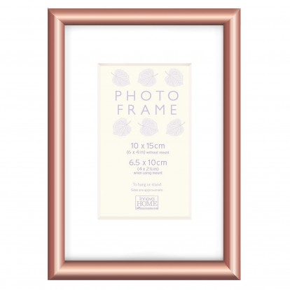 Tuxton 6x4 Copper look Photo Frame with mount