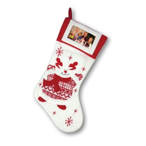 Reindeer Stocking Hanging Decoration