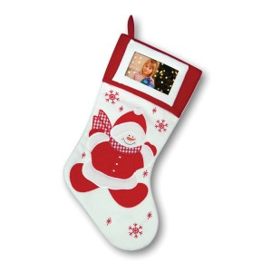 Snowman Stocking Hanging Decoration