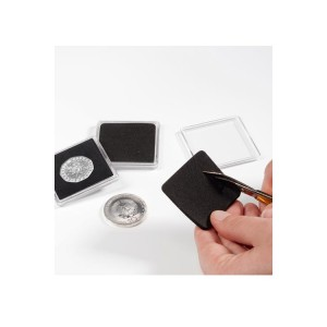 Cut to size Quadrum Coin Capsules