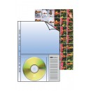 Clear A4 & CD/DVD Pocket Refill