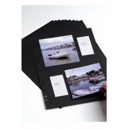 A4 Punched Acid-Free Card pages (Pack of 10)