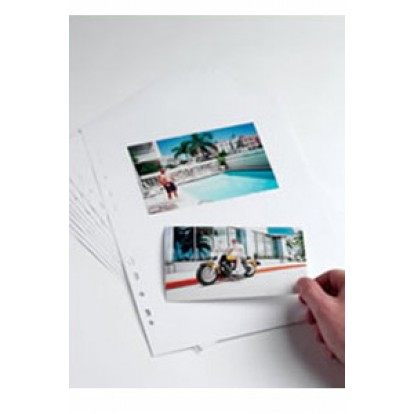A4 Punched Acid-Free Card pages