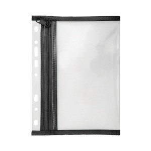 A4 Clear Zipper Wallet