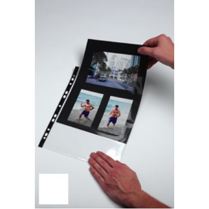 A4 Black or White Insert card (Pack of 10)