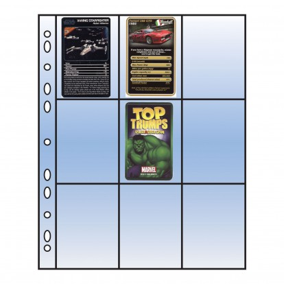 Arrowfile 2.5 x 3.5 (18) - Clear Acid-Free Trading Card Pocket Refill (Pack of 10)