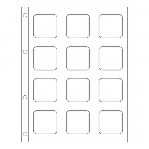 White Matrix Slide-in Panel Refills (5)