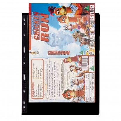 DVD Booklet Cover Pages (263 x 195mm) Pack of 5