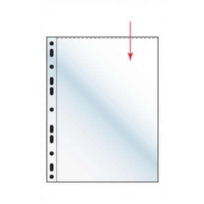 """A4 Polyester Pocket Refill Sleeve - 9x12"""" 233x303mm (pack of 10)"""