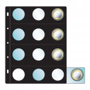 30mm 12 coin holder Card & Insert Sheet