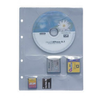 Premier Compact Refill to hold CDs and memory cards