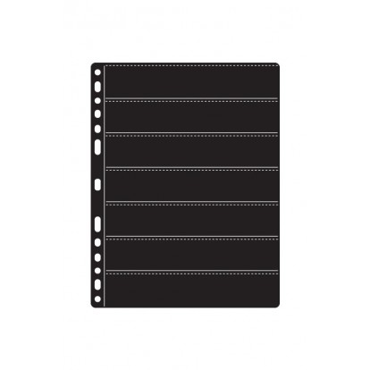 Compact-Premier Black Stamp Refill 180x30mm  7x1.2 7 pockets per side