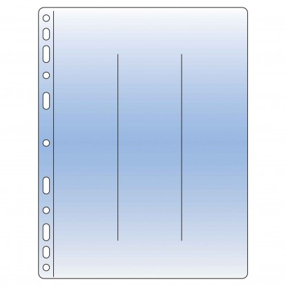 Compact Collectors Pocket Refill Sheets - Clear 60x245mm (3) (Pk of 10)