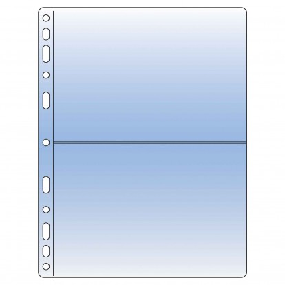 Compact Collectors Pocket Refill Sheets - Clear 182x122mm (2) (Pk of 10)